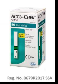 tiras reactivas Accu-Chek Active