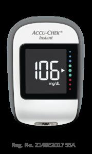 medidor de glucosa Accu-Chek Instant