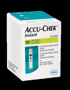 tiras reactivas Accu-Chek Instant
