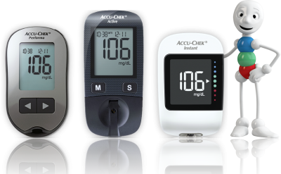 medidores de glucosa Accu-Chek