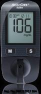 medidor de glucosa Accu-Chek Active